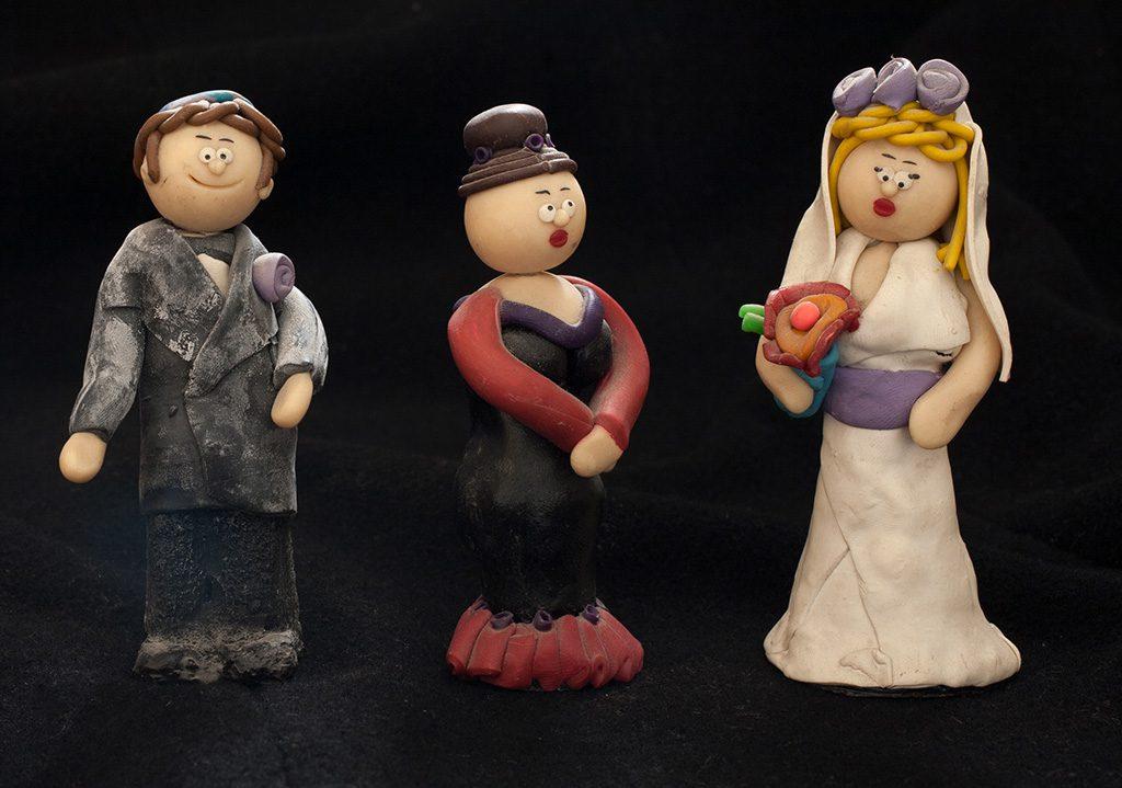 בובות חתן כלה 1